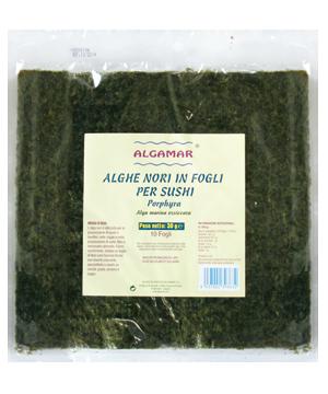 Alge nori pentru sushi raw 30g